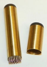 Brass Tip-Pik Cue Tip Tool, tip tool, Hold chalk better, FREE SHIPPING