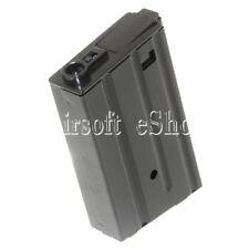AirsoftShop 120rd Mag Metal Magazine M4 M16VN Mag For M-Series AEG Black