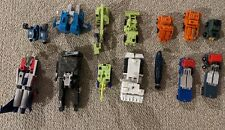 Transformers G1 and Gobot 14 robots lot for repair or parts Vintage 80's