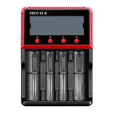 Hexinyu H4 Intellicharger LCD Display Battery Charger Li-ion/LiFePO4/Ni-MH/Ni-CD