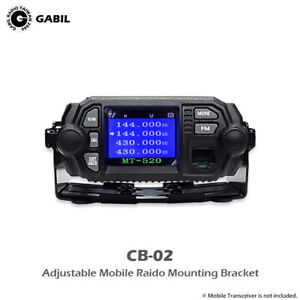 CB-02 Quick Release Mounting Bracket for All Kinds of Mobile Radio Transceiver