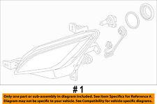 Chevrolet GM OEM 13-16 Sonic-Fog Light 94523415