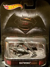 Hot Wheels DC Comics BATMAN vs SUPERMAN ~ BATWING ~ Retro Entertainment Die-Cast
