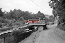 PHOTO  BOX RAILWAY STATION WILTS 1963 GWR PADDINGTON - BATH - BRISTOL MAIN SWIND