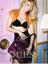 PUBLICITE ADVERTISING 104  2009  GUESS  collection SACS