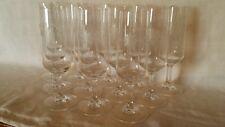 Lot de 12 Verres Flûtes à Champagne avec fleurs