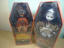 Mezco LIVING DEAD DOLLS JACK O LANTERN 2016 & SWEET TOOTH Halloween 2017 le 666