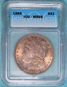 1888-P MS-66 Morgan Silver Dollar Uncirculated Unc
