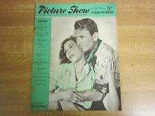 February 1953, PICTURE SHOW, John Mills, Mel Ferrer, Leslie Caron, Eva Bergh.
