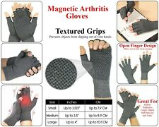 Anti Arthritis Compression Gloves Magnetic Hand Support Wrist Pain Therapy
