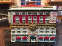 RARE 2001 NEW YORK MACY'S MINIATURE BUILDING TRINKET BOX