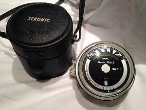 Sekonic Marine Meter II with original case