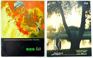 Professional Golf Company/PGA 1968 &1974 Catalogs of Items Introduced That Year