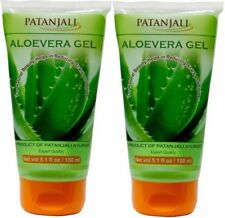 2x150ml Patanjali ALOE VERA Face Gel gives natural glow on face, care your skin