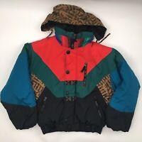 Obermeyer Juniors 14 Jacket Color Block Retro Ski Snowboard Winter Go Extreme