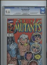New Mutants #87 CGC 9.6 1st app Cable, Stryfe, Freedom Force