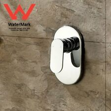 WaterMark Square Shower Bath Spout Flick Mixer Tap Chrome Brass Wall Faucet