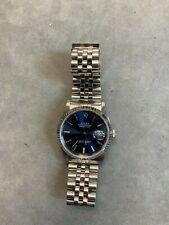 Pre-Owned Rolex Datejust 16234 BLU IX JUB Selling As-Is