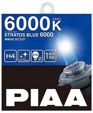 PIAA Headlight Halogen bulb Stratos Blue 6000K H4 12V 60/55W 2pieces from Japan