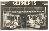 Postcard Gernert's Store 19 West Main St Somerville NJ