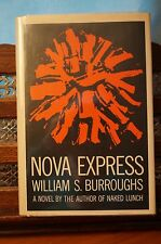 """Nova Express"" by William S. Burroughs - 1964 1st printing - published by Grove"
