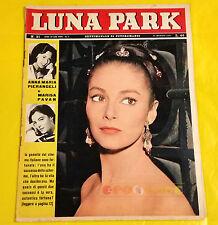 LUNA PARK 1961 n. 21 Anna Maria Pierangeli, France Nuyen