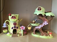 ELC Happyland Bundle Fairy Bluebell Boot And Fairy Treehouse No Figures