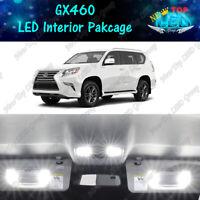 CANBUS White LED Lights Interior Package Kit for 2010 - 2018 2019 Lexus GX460
