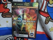 XBOX Dead or Alive Ultimate  Double Disc Collector's Edition