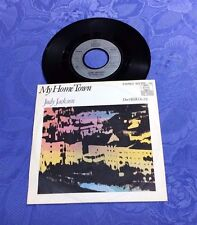 "JUDY JACKSON (7"") ""MY HOME TOWN"" [*RARE 1981 ARIOLA  PS 45 SINGLE ""DISCO SYNTH""]"