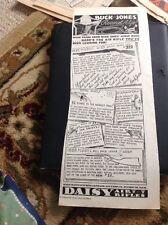 N1-7 Ephemera 1935 Advert Buck Jones Daisy Co Plymouth Mich