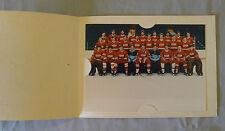 Original Official NHL Rendez-vous 1987 URSS Team Hockey Photo