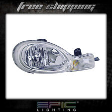 Fits 2000-02 Dodge Neon w/ Chrome Bezel Headlights lamps Right Passenger Only