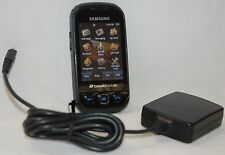 Samsung SEEK SPH-M350 Boost Mobile Cell Phone BLACK / BLUE Slider Smartphone C