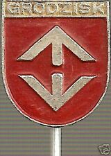 Grodzisk Mazowiecki - Polish Hat Lapel Pin LP1306