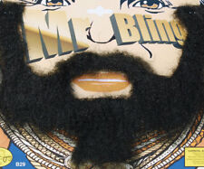 Mr T Beard Moustache Tash BA Baracus A Team Fancy Dress