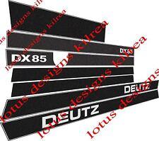 DEUTZ DX85 Autocollants/Decals
