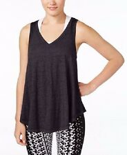 Calvin Klein Performance Icy Wash Tank Top Color Black Size Large