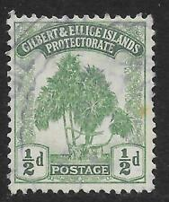 More details for gilbert & ellice islands 1911 ½d. green sg 8 (fine used)