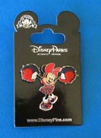Disney Pin Minnie Mouse - Cheerleader with Pom-Poms 3D