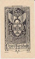 § EX-LIBRIS Désiré VERSCHAFFEL par André VLAANDEREN (1881-1955) §
