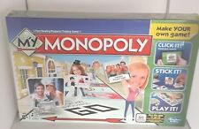 MY  MONOPOLY BOARD GAME NEW SEALED BOX CRUSHED AT BOTTOM CENTRE