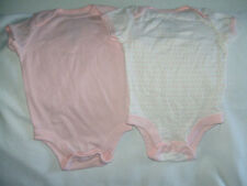Nwt Little Bundles by Old Navy 100% Cotton 3-6 Mos Girl's 3 Pack Bodysuits New