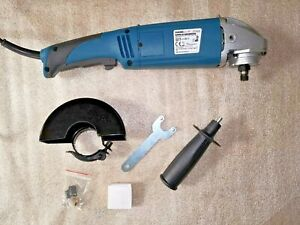 ANGLE GRINDER 230V 125mm CUTTING GRINDING WORKZONE END OF LINE VARIABLE SPEED