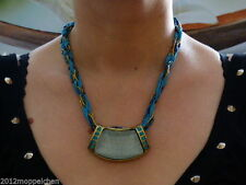 Markenlose Modeschmuck-Halsketten & -Anhänger im Collier-Stil mit Zirkonia