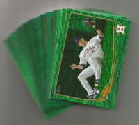 2013 Topps Emerald Parallel Lot 23 Cards Ryan Braun Dustin Pedroia ++
