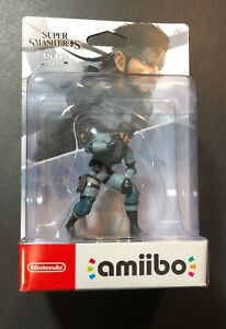 Nintendo Amiibo Figure [ Super Smash Bros Series / Snake ] NEW