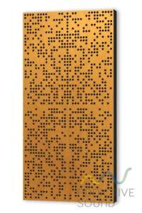 Binary Diffuser 10cm Akustik Paneel Schalldämmung Schaumstoff Raumakustik Farben