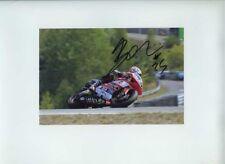 Alex Baldolini APRILIA 250 CC MOTO GP BRNO 2007 firmato Fotografia
