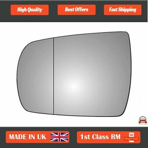 Left Passenger Wide Angle Wing Mirror Glass Kia Sorento Mk2 2011-2015 398LAS